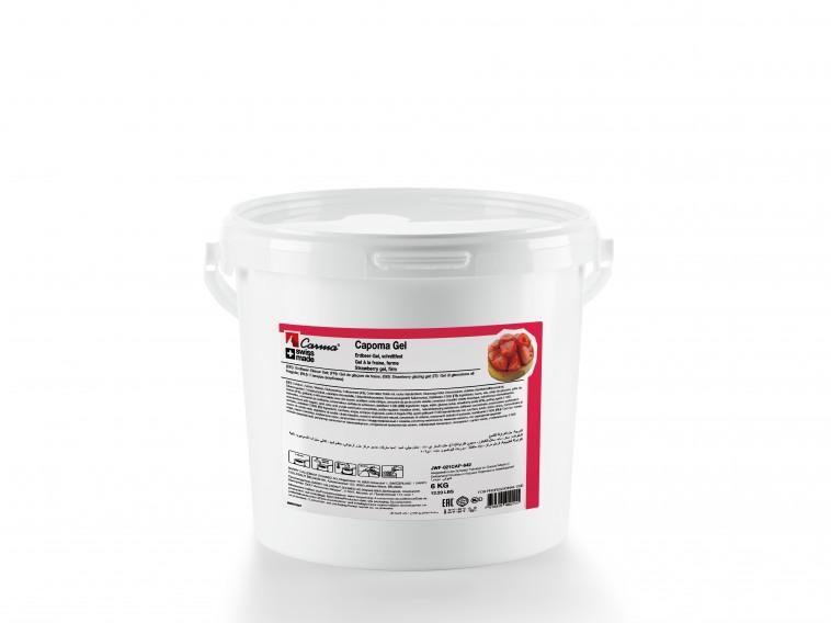 Firm Strawberry Gel - Capoma-Gel