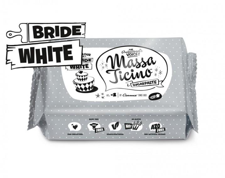 Massa Ticino Sugarpaste Bride White