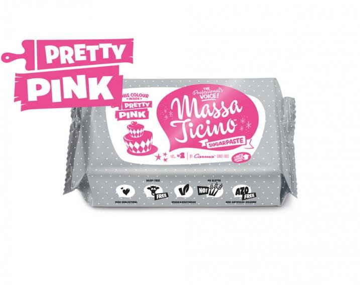 Massa Ticino Sugarpaste Pretty Pink