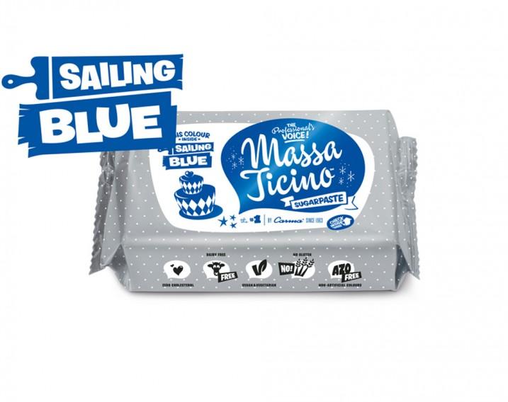 Massa Ticino Sugarpaste Sailing Blue