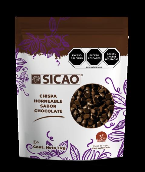 Sucedáneo - Cobertura Sabor Chocolate Amargo - Chispas horneables