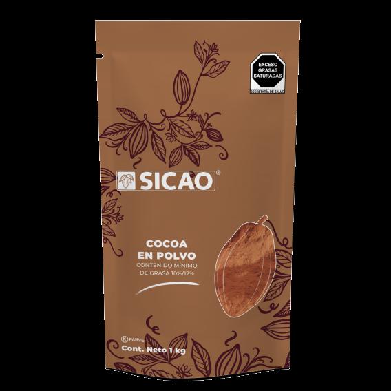 Especialidades - Cocoa Natural 10%/12% - Polvo