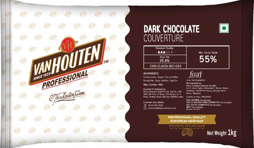 Dark Chocolate Couverture Block