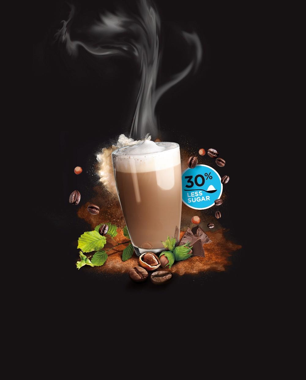 Cappuccino Noisette moins sucré